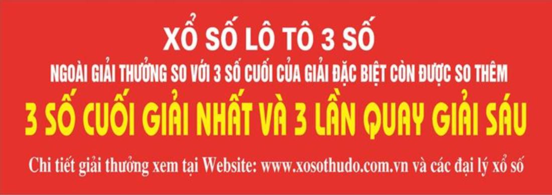 Quảng cáo Lô tô 3 số