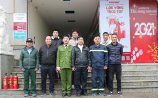 CBNV Công ty diễn tập phòng cháy chữa cháy Năm 2021