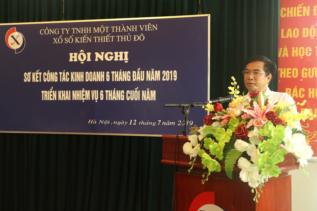 Ông Lê Đức Thịnh - Phát biểu chỉ đạo tại Hội nghị tổng kết 6 tháng đầu năm và triển khai nhiệm vụ 6