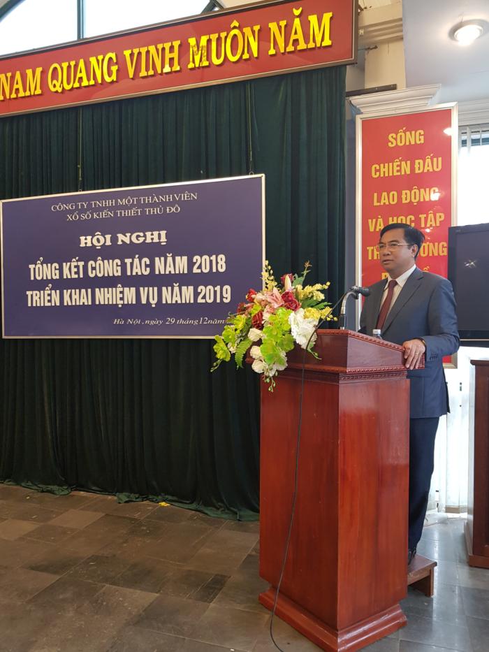 Hội nghị tổng kết công tác kinh doanh năm 2018 và triển khai nhiệm vụ năm 2019